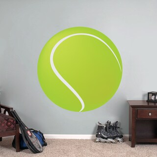 Printed Tennis Ball Wall Decal (More options available)