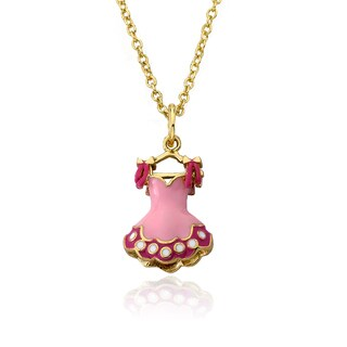 Candyland 14k Goldplated Heavy Link Necklace with Lattes Topped Cupcake and Charm Cluster