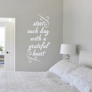 Start Each Day with a Grateful Heart' 17 x 36-inch Wall Decal|https://ak1.ostkcdn.com/images/products/10670696/P17735305.jpg?_ostk_perf_=percv&impolicy=medium