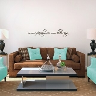 Life's Greatest Blessing Wall Decal (36 x 7)