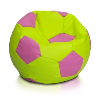 Large Multi-color Soccer Ball Bean Bag Chair