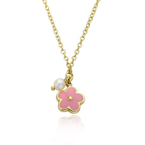 14k Gold LMTS Frosted Star Necklace