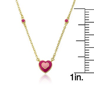 14k Gold LMTS Heart within Hearts Necklace
