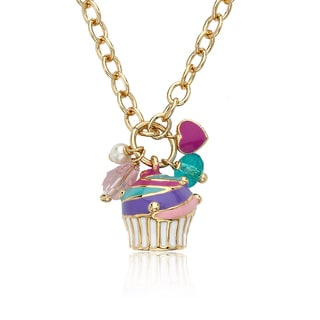 Superstar Cutie Girl's Multicolor 3 Slide Necklace with Designs