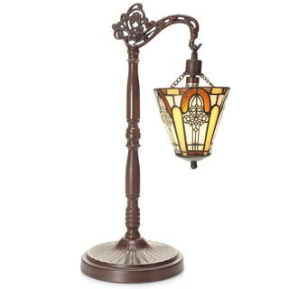 Neriah 1-light Tiffany-style 21-inch Table Lamp
