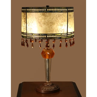 Jayden 2-light Tiffany-style 14-inch Table Lamp