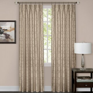 Achim Windsor Pinch Pleat Curtain Panel (More options available)