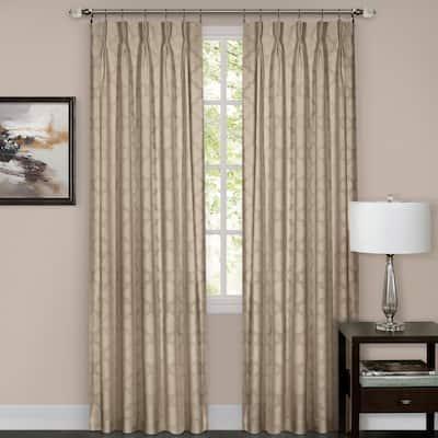 Achim Windsor Pinch Pleat Curtain Panel