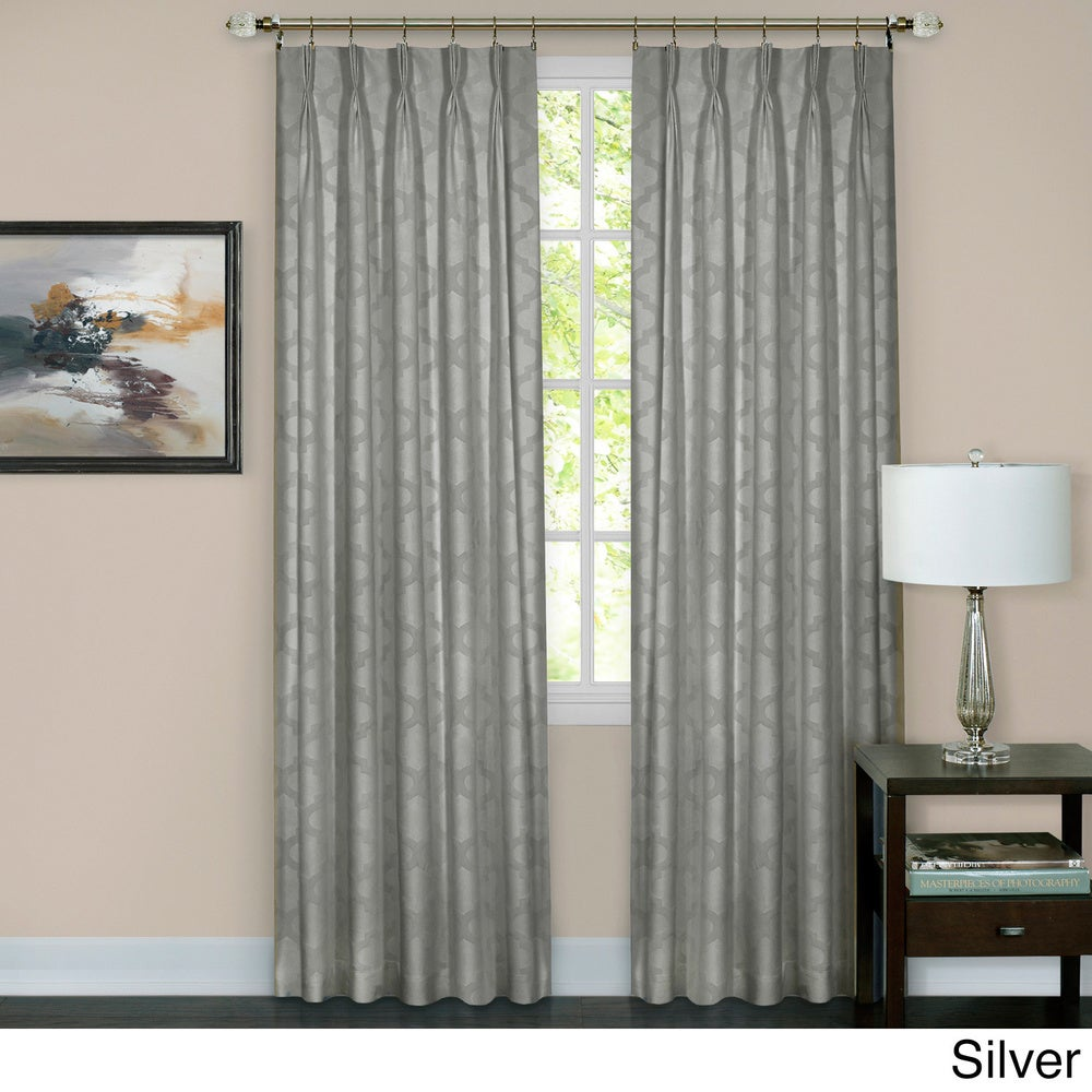 Shop Achim Windsor Pinch Pleat Curtain Panel - 10670898