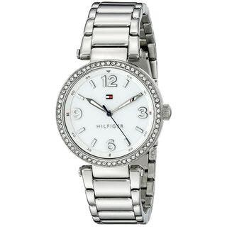 Tommy Hilfiger Women's 1781589 'Lynn' Crystal Stainless Steel Watch https://ak1.ostkcdn.com/images/products/10670906/P17735496.jpg?impolicy=medium