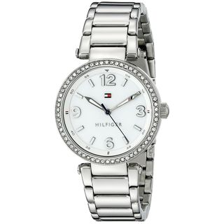 Tommy Hilfiger Women's 1781589 'Lynn' Crystal Stainless Steel Watch