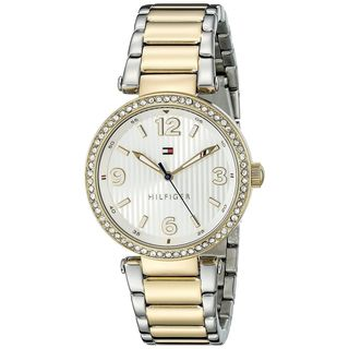 Tommy Hilfiger Women's 1781599 'Lynn' Crystal Two-Tone Stainless Steel Watch