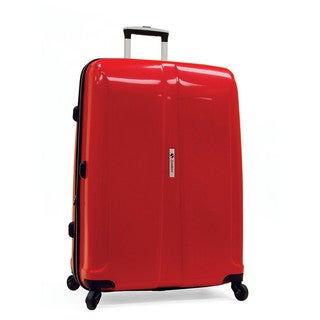 Samboro Shuttle Red 26-inch Expandable Hardside Spinner Upright Suitcase