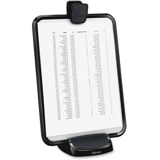 Innovative 3-in-1 Design - document holder, dry erase board and clipb