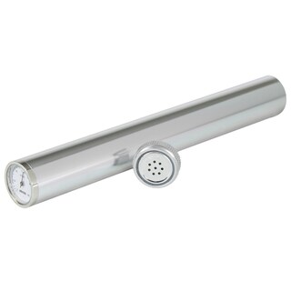 Adorini Silver Hygrometer Cigar Tube