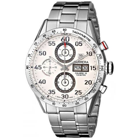 Tag Heuer Men's CV2A11.BA0796 'Carrera' Chronograph Automatic Stainless Steel Watch