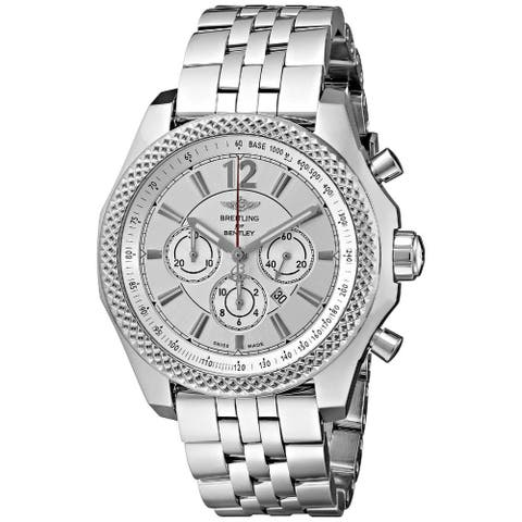 Breitling Men's A4139021-G754 'Breitling for Bentley' Chronograph Automatic Stainless Steel Watch