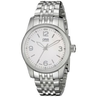 Oris Men's 73376494031MB 'Big Crown Swiss Hunter Team Ps Edition' Diamond Stainless Steel Watch