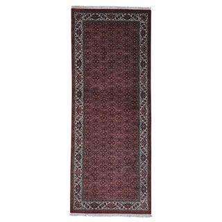 Handmade Bidjar Mahi 300 Kpsi Gallery Size Oriental Area Rug (4' x 10')