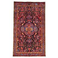 Handmade Full Pile Persian Nahavand Oriental Area Rug - 6'1 x 10'4