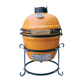 Studio Small Orange Ceramic BBQ Grill