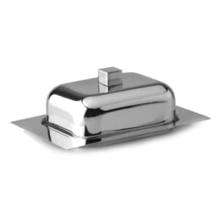 Cubo Stainless Steel Butter Dish