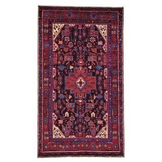 Handmade Persian Nahavand Wool Oriental Area Rug