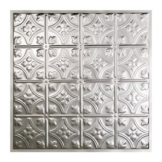 Great Lakes Tin Hamilton Clear 2-foot x 2-foot Lay-In Ceiling Tile (Carton of 5)