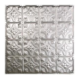 Great Lakes Tin Hamilton Clear 2-foot x 2-foot Nail-Up Ceiling Tile (Carton of 5)