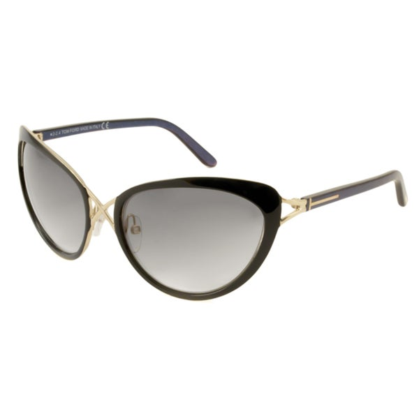 65cb75facf Shop Tom Ford TF0321 Daria Women s Cat-Eye Sunglasses - Free ...