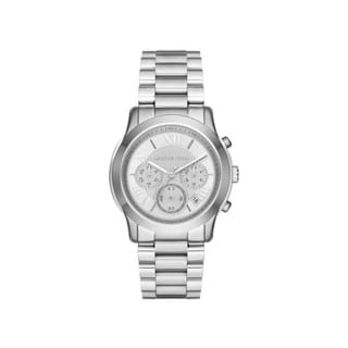 Michael Kors Women's MK6273 Cooper Chronograph Silver Dial Stainless Steel Bracelet Watch