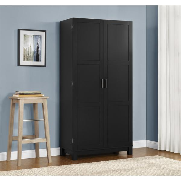 Ameriwood Home Carver 64-inch Storage Cabinet - Free Shipping ...