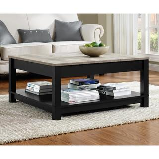 The Gray Barn Latigo Distressed Finish Coffee Table