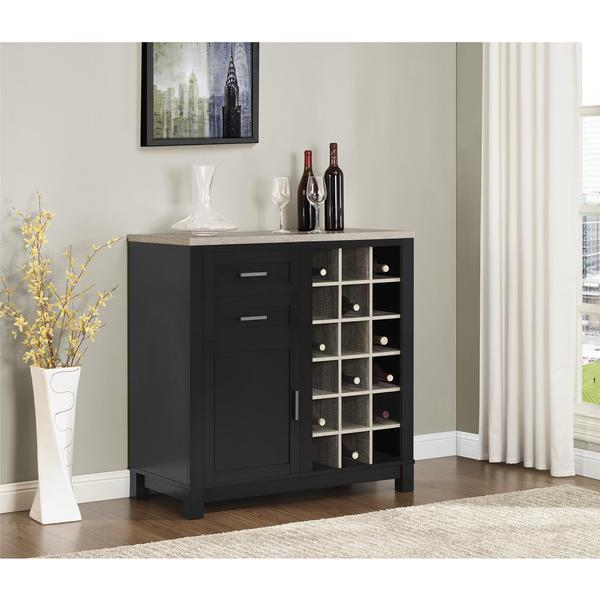 Altra Carver Wine Cabinet - Free Shipping Today - Overstock.com ...