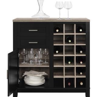 Altra Carver Wine Cabinet
