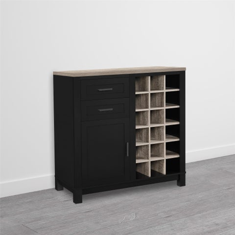"Copper Grove Sonfjallet Wine Cabinet - 37""h x 36""w x 18""d"