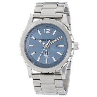 Hush Puppies Men's 3606M.1503 Orbz Round Stainless Steel Blue Dial Luminous Watch