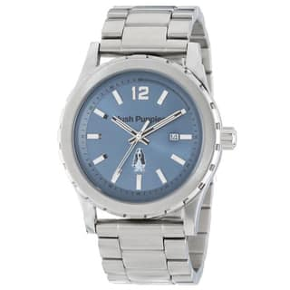 Hush Puppies Men's 3606M.1503 Orbz Round Stainless Steel Blue Dial Luminous Watch|https://ak1.ostkcdn.com/images/products/10673101/P17737438.jpg?impolicy=medium