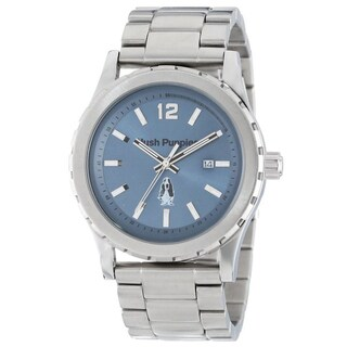 Hush Puppies Men's 3606M.1503 Orbz Round Stainless Steel Blue Dial Luminous Watch