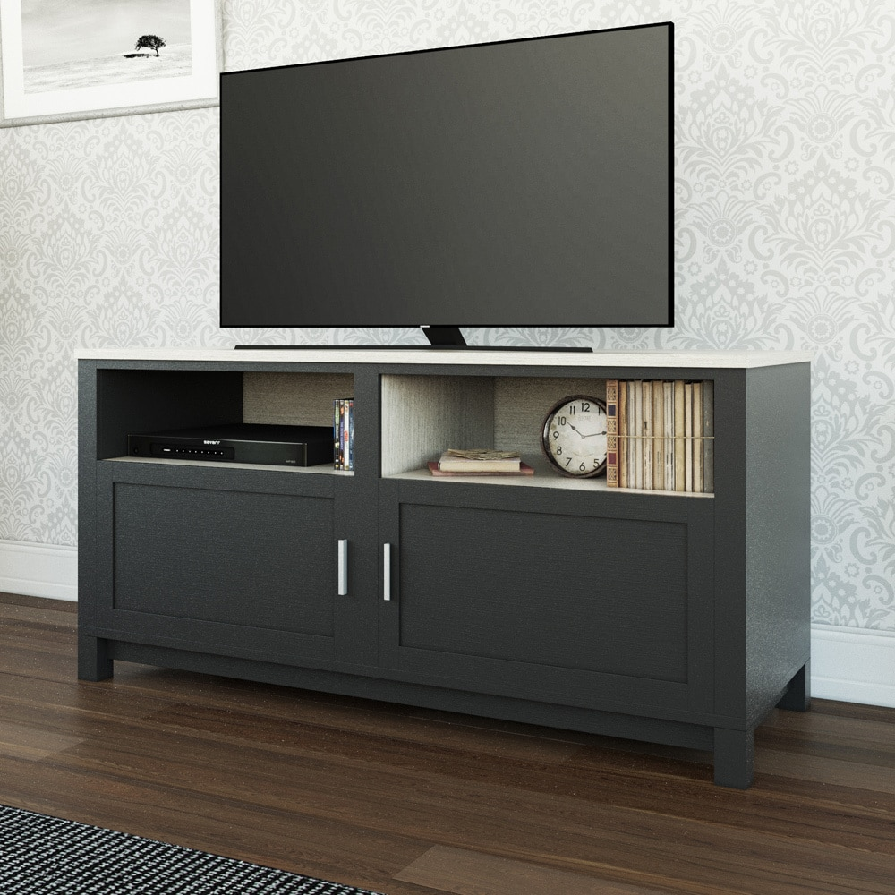 Wicker Park Le Moyne Black 60 Inch Tv Stand Free Shipping On Orders Over 45 10673125