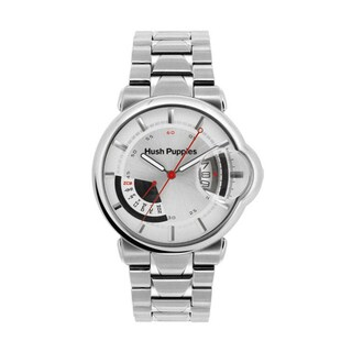 Hush Puppies Men's Silver Dial Stainless Steel Watch 7055M.1522