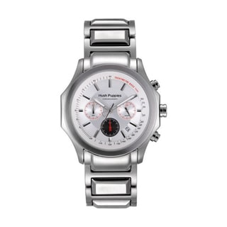 Hush Puppies Men's White Stainless Steel 6039M.1506 Watch