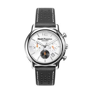 Hush Puppies Men's Silver Dial Black Genuine Leather Chronograph 6044M.2522 Watch|https://ak1.ostkcdn.com/images/products/10673213/P17737483.jpg?impolicy=medium