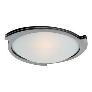 Access Lighting Triton 19 inch 1-light Steel Flush Mount