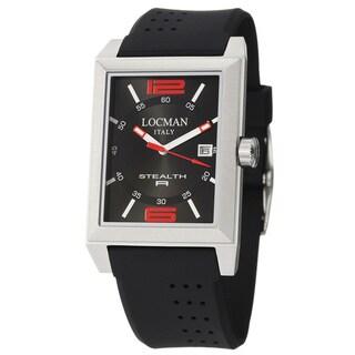 Locman Stealth R Men's Quartz 240BK2BK Watch