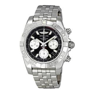 Breitling Chronomat 41 Black Dial Automatic Men's Watch AB014012-BA52|https://ak1.ostkcdn.com/images/products/10673247/P17737500.jpg?impolicy=medium