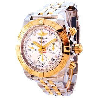 Breitling Men's CB014012-A723 18KT Rose Gold Stainless Steel Bracelet Watch|https://ak1.ostkcdn.com/images/products/10673264/P17737506.jpg?impolicy=medium