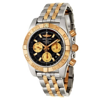 Breitling Men's Analog Display Swiss Automatic Two Tone CB014012/BA53-378C Watch