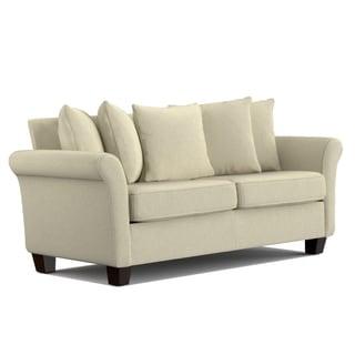 Portfolio Colfax Ivory Chenille Pillow Back SoFast Sofa