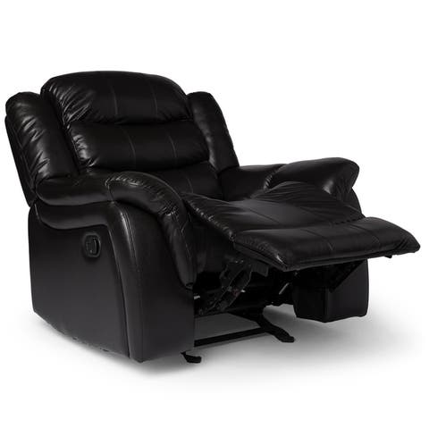 6325863f69f5 Buy Black Recliner Chairs & Rocking Recliners Online at Overstock ...